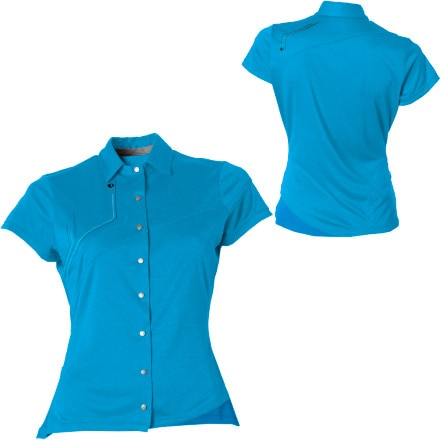 Pearl Izumi Divide Polo Short Sleeve Women's Shirt
