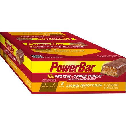 Powerbar Triple Threat Bars - Box (15 Bars)