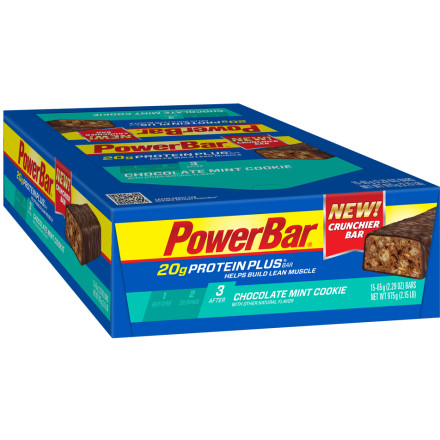 Powerbar Protein Plus 20g Bar - 15-Pack