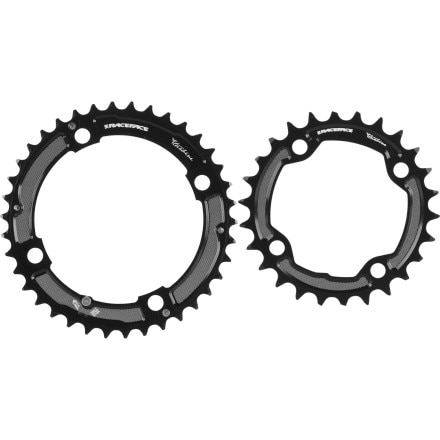 Race Face Turbine Chainring Set - Double/10 Speed