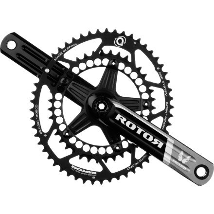 Rotor 3D Crankset with Q-Rings