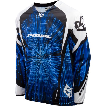 Royal Racing Blast Mountain Bike Jersey - Long-Sleeve - Men's