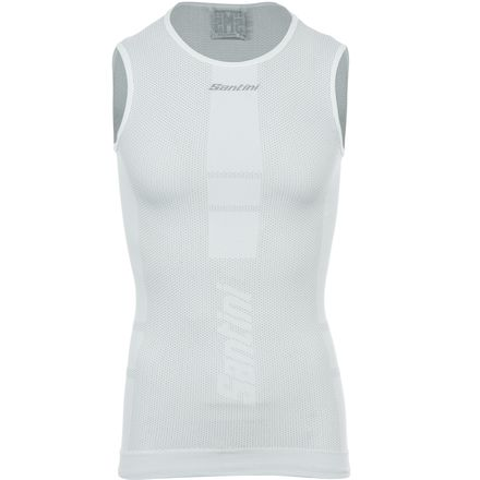 Santini Carbon 5.0 Base Layer - Sleeveless - Men's