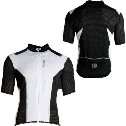 Santini Iron Full-Zip Jersey - Short-Sleeve - Men's