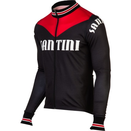 Santini Tech Wool Long Sleeve Jersey