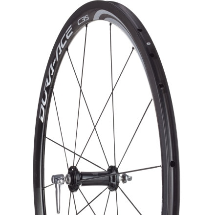 Shimano Dura-Ace WH-9000 C35 Carbon Road Wheelset - Tubular
