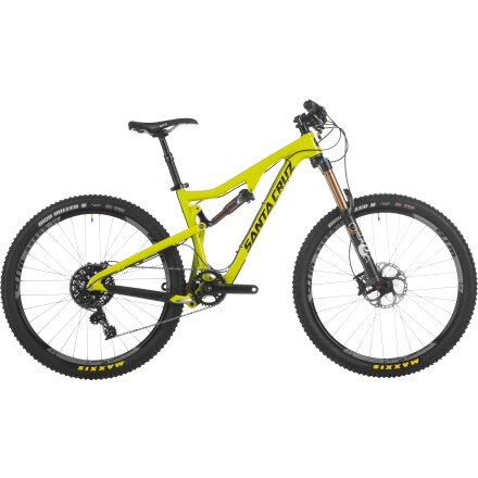 Santa Cruz Bicycles Bronson Carbon X0-1 AM Complete Mountain Bike