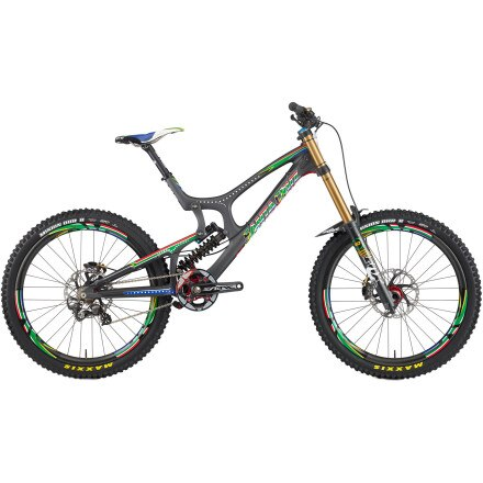Santa Cruz Bicycles V-10 Carbon Minnaar Replica Complete Mountain Bike
