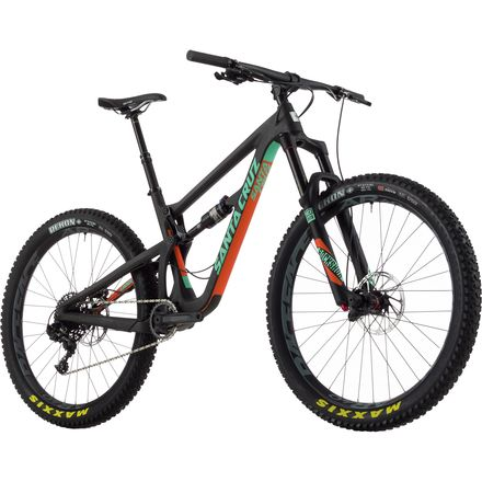 Santa Cruz Bicycles Hightower Carbon 27.5+ S Complete Mountain Bike - 2017