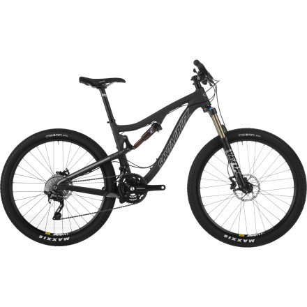 Santa Cruz Bicycles Blur TR Carbon R XC Complete Mountain Bike