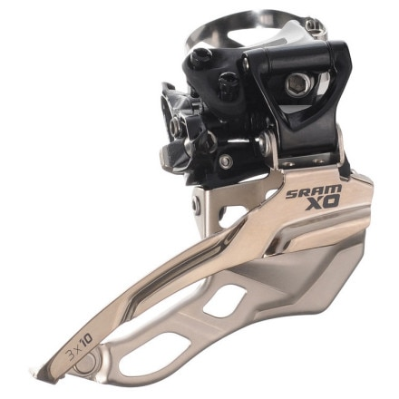 SRAM X0 3x10 High Clamp Front Derailleur