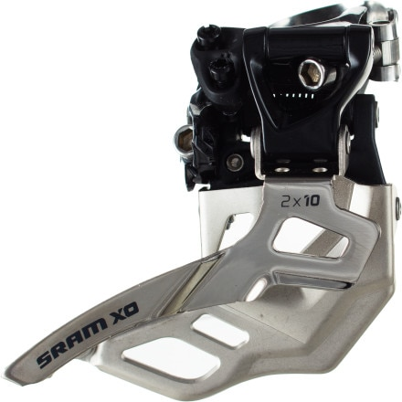 SRAM X0 2x10 High Clamp 38/36t Front Derailleur