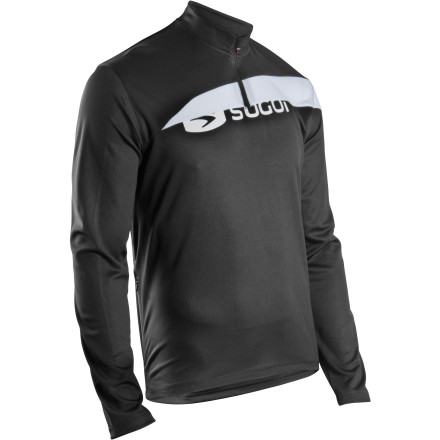 SUGOi Gustov Zip-Neck Long Sleeve Jersey