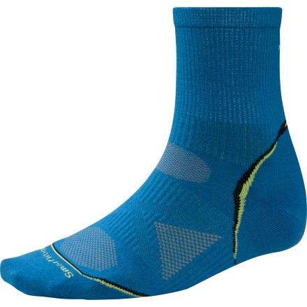 SmartWool PhD Cycle Ultra Light 3/4 Crew Sock