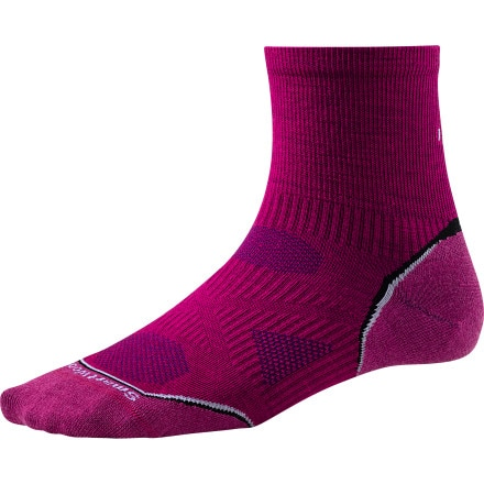 SmartWool PhD Cycle Ultra Light Mini Sock - Women's