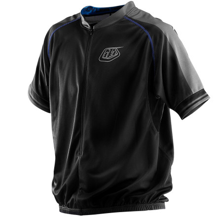 Troy Lee Designs XC 3/4-Zip Bike Jersey - Short-Sleeve - Men's