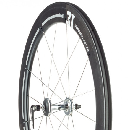 3T Mercurio 60 LTD Carbon Road Wheelset - Tubular