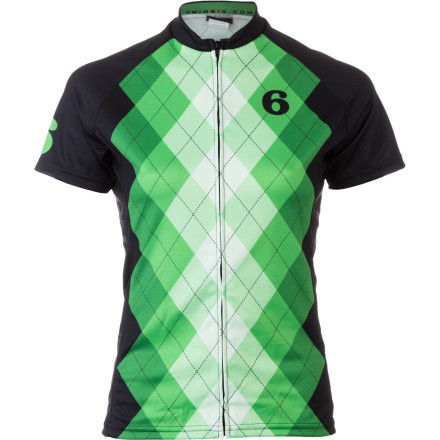 Twin Six Argyle Jersey - Short-Sleeve - Women's