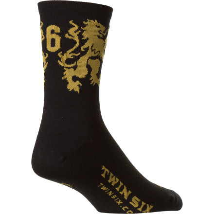 Twin Six Brew Pub Coolmax Sock - 5in