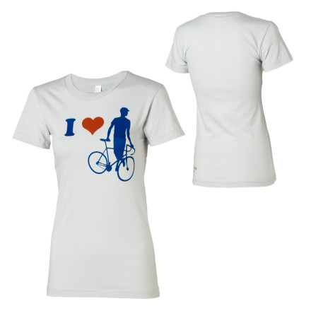 Twin Six I Heart T-Shirt - Short-Sleeve - Women's
