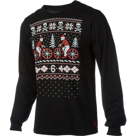 Twin Six Yule Tide Long Sleeve T-Shirt