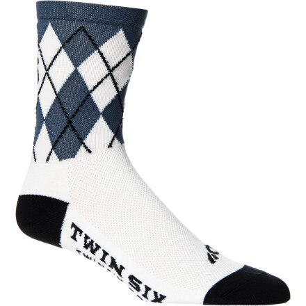 Twin Six Argyle Coolmax Sock - 5in