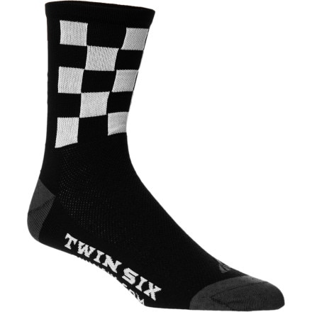 Twin Six Speedy Motor City Coolmax Sock - 5in