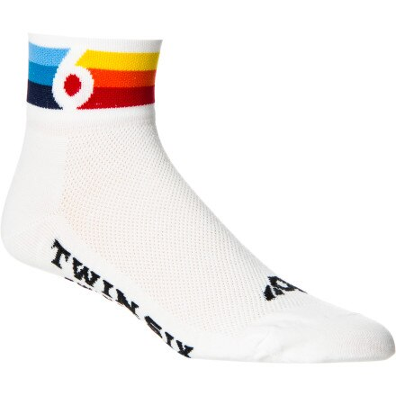 Twin Six Grand Prix Coolmax Sock - 2in