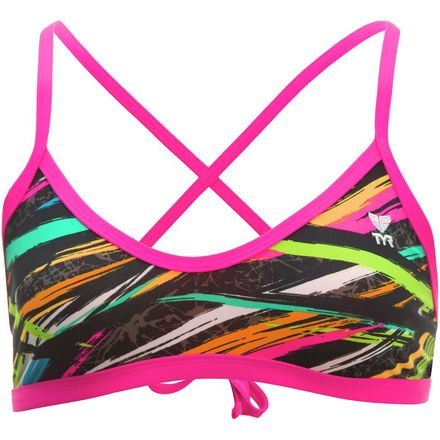 Crosscut Tieback Bikini Top - Women's TYR