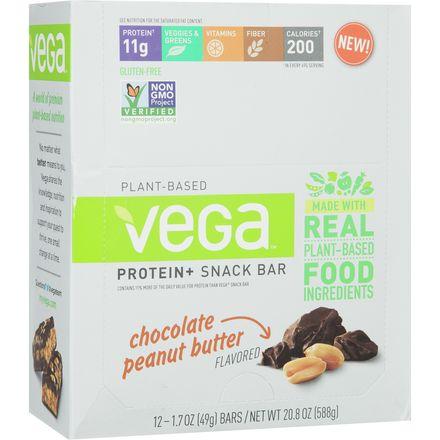 Protein Plus Snack Bar - 12-Pack Vega