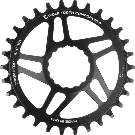 Wolf Tooth Components Drop Stop Race Face Cinch Direct Mount Chainring