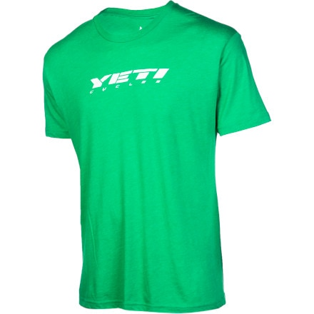 Yeti Cycles Slant Logo Ride Jersey - Men's