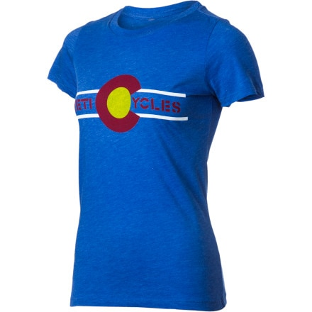 Yeti Cycles Colorado Flag Ride Jersey - Women's