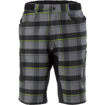 Ether Plaid Short - Men's ZOIC