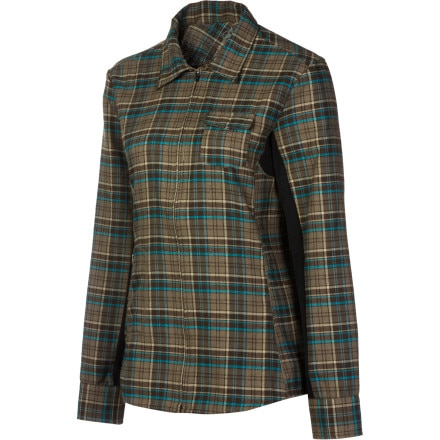 ZOIC Encore Plaid Bike Jersey - Long-Sleeve - Women's