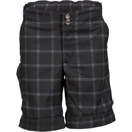 ZOIC Rippette Plaid Short - Girls'