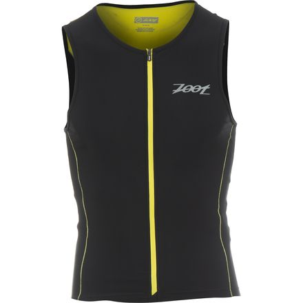 Performance Tri Full-Zip Tank Top - Men's ZOOT