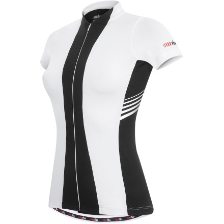 Zero RH + Stripe Full-Zip Jersey - Short-Sleeve - Women's