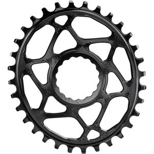 Absolute Black Race Face Oval Cinch Boost Direct Mount Traction Chainring