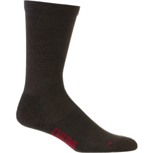 Chrome Merino Crew Sock