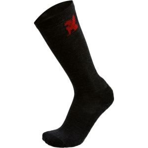 Chrome Merino Over-The-Calf Sock