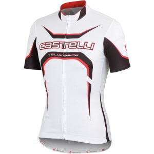 Castelli Velocissimo Tour Full-Zip Jersey - Short Sleeve - Men's