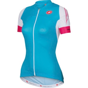 Castelli Certezza Jersey Full-Zip Jersey - Short-Sleeve - Women's