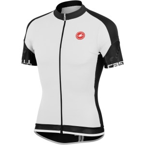 Castelli Entrata Full-Zip Jersey - ShortSleeve - Men's