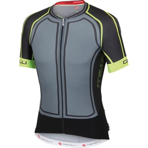 Castelli Aero Race 5.0 Full-Zip Jersey - Short Sleeve - Men's