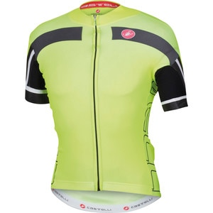 Castelli Free AR 4.0 Full-Zip Jersey - Short Sleeve - Men's