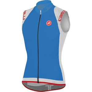 Castelli Entrata Full-Zip Jersey - Sleeveless - Men's