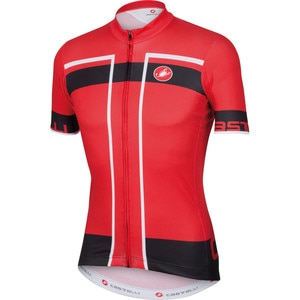 Castelli Velocissimo Full-Zip Jersey - Short-Sleeve - Men's