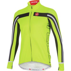 Castelli Free 3 Full-Zip Jersey - Long Sleeve - Men's