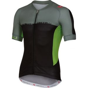 Castelli Aero Race 5.1 Full Zip Jersey - Short Sleeve - Men's